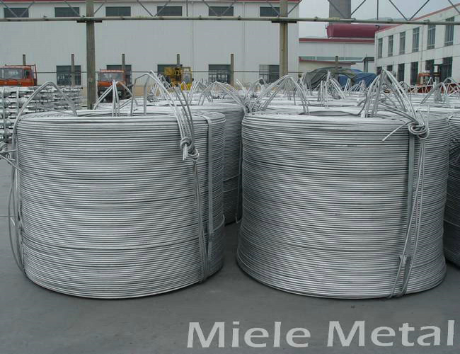 1050 diameter 6.5mm 9.5mm aluminum wire