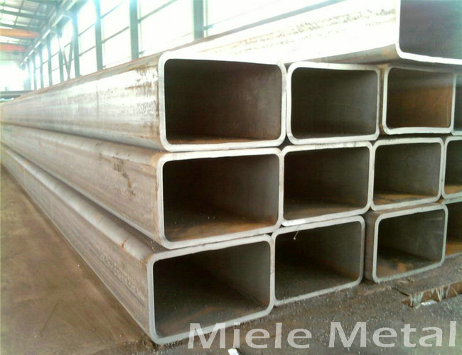 5mm wall thickness rectangular steel tube carbon welded