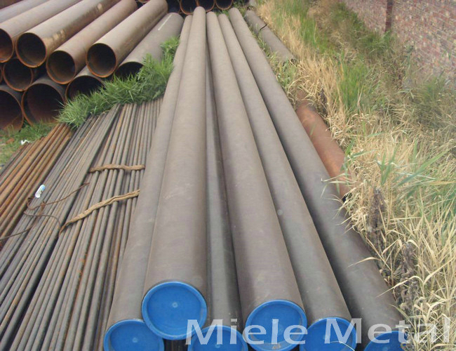 ASTM A53 Gr. B ERW schedule 40 black carbon steel pipe