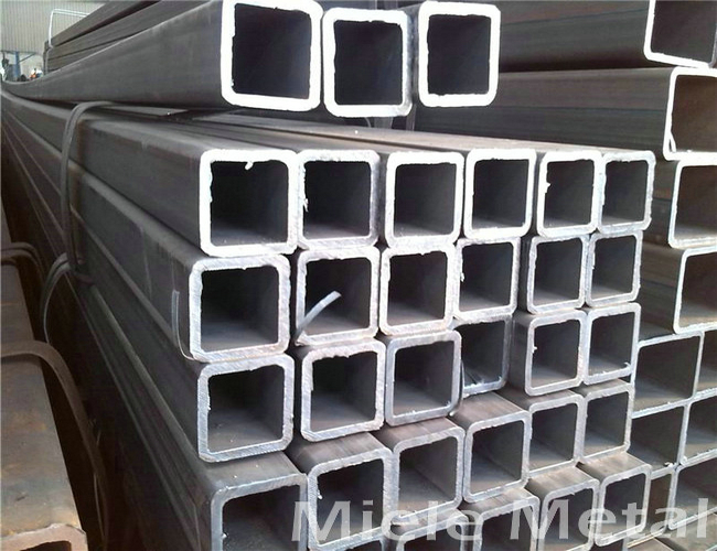 Rectangular welded steel pipe