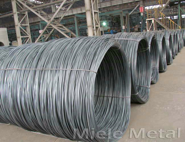 SAE 1008 1010 Hot Rolled Steel Wire Rod