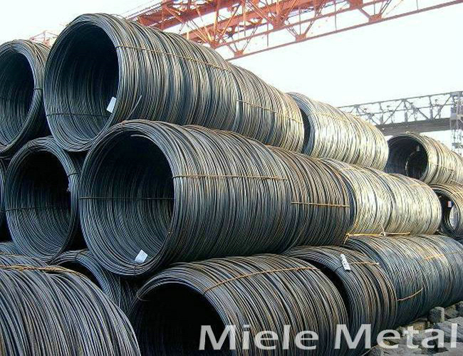 Galvanized low carbon steel wire for armouring cable