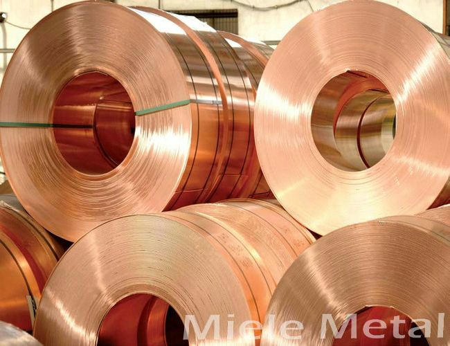 Red soft Copper strip coil price 1mm