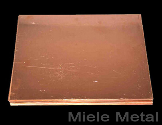 Standard Polished Copper Sheet