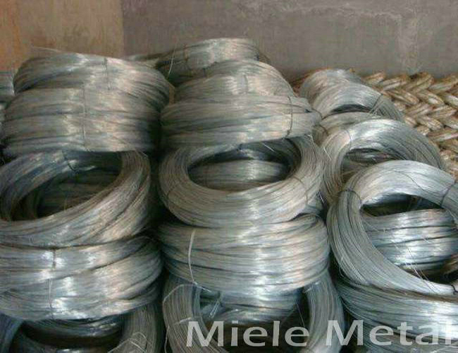 22 gauge high zinc coated steel wire