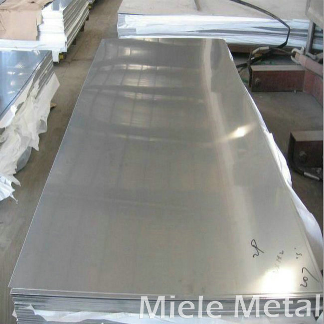 Color stainless steel plate features