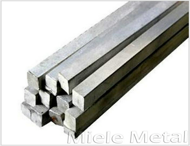Cold-drawn 316 Stainless Steel Square Bar